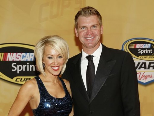 Mr. and Mrs. Clint Bowyer