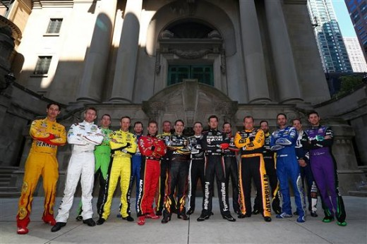 2015 Chase drivers