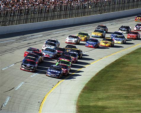 Talladega racing