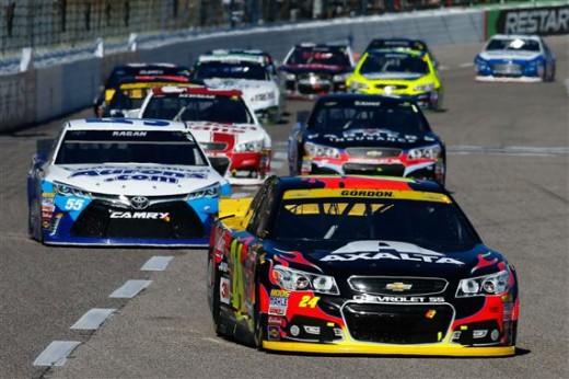 racing at Texas