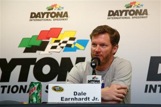 Dale Jr. at DIS