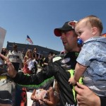 No Poor Substitute, Hornish Earns Father's Day Win