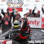 Larson, McDowell, Moffitt: A NASCAR Hat Trick