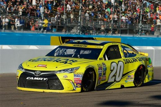 Kenseth busted at Phoenix