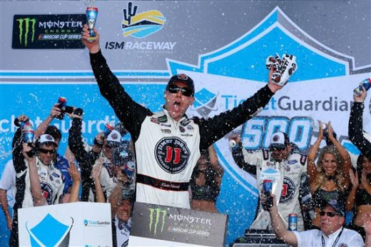 Kevin Harvick Earns 9th Win at ISM Raceway