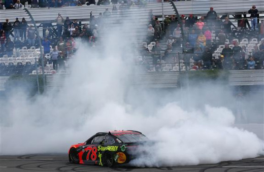 during the Monster Energy NASCAR Cup Series Pocono 400 at Pocono Raceway on June 3, 2018 in Long Pond, Pennsylvania.