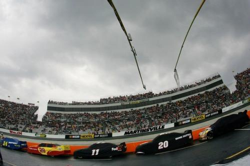 NASCAR Rides on the Storm
