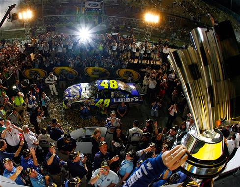 WITHOUT CHASE, SPRINT CUP LIKELY WOULD HAVE HAD SAME CHAMPIONS