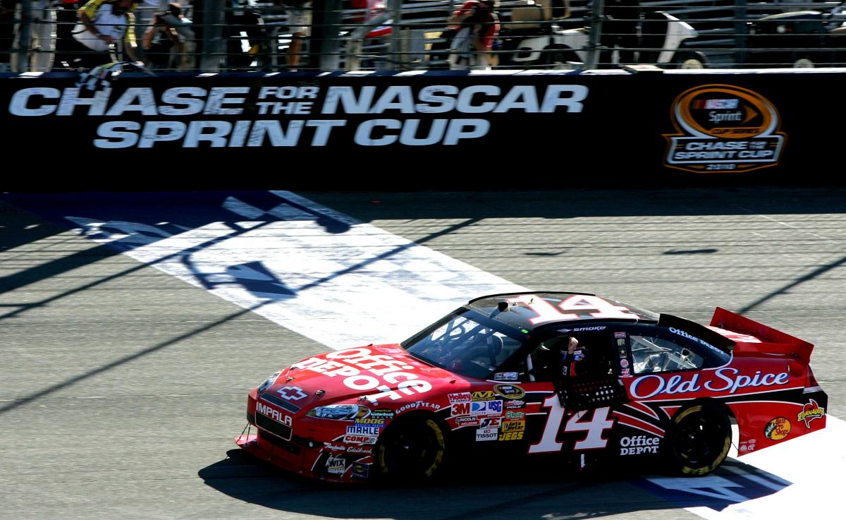 STEWART BACK IN THE CHASE WITH WIN