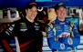 2010-charlotte-all-star-brad-keselowski-kurt-busch-in-garage---thumb