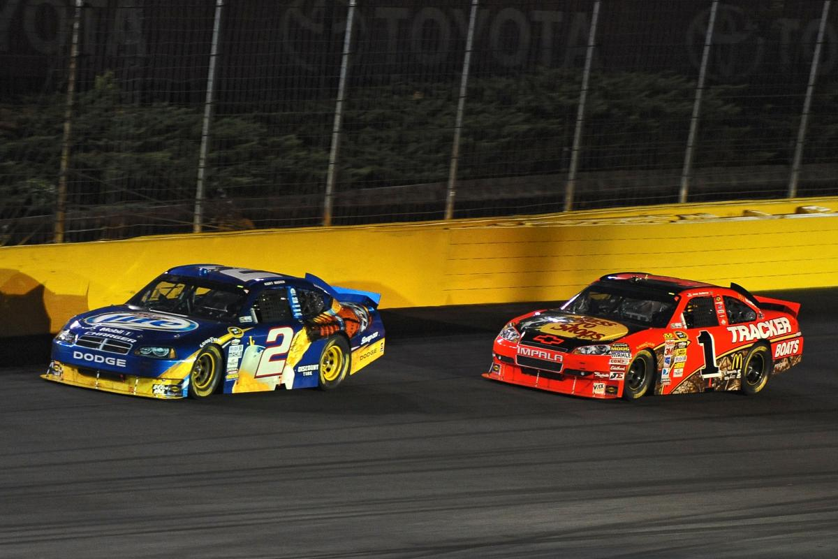PENSKE, GANASSI BATTLE FROM INDY TO CHARLOTTE AS BUSCH WINS COCA-COLA 600