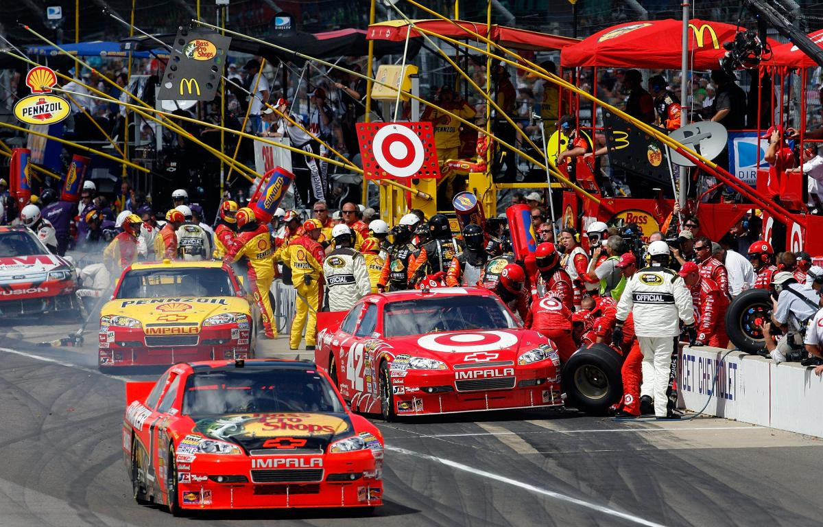 MCMURRAY MAKES HISTORY FOR CHIP GANASSI