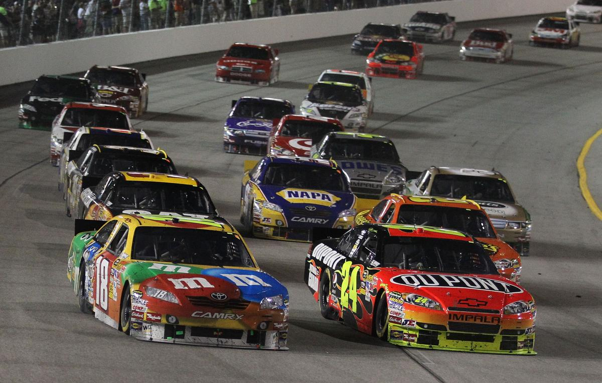 FEDERATED AUTO PARTS 400 ODDS