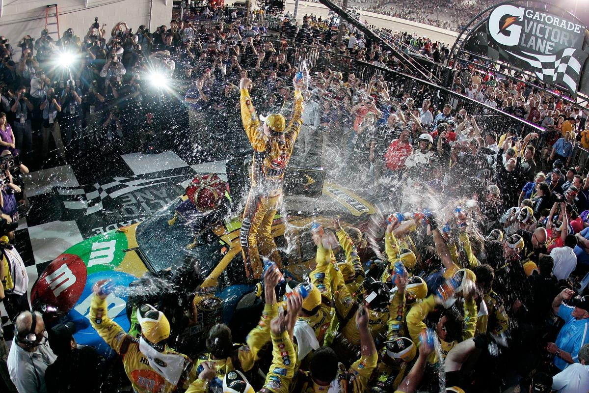 NEW KYLE SHINES IN VICTORY LANE IN RICHMOND