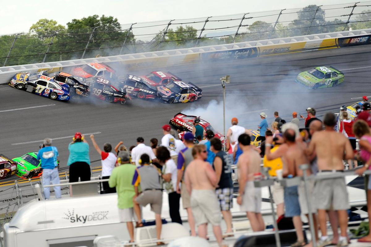 ANOTHER WILD WEEKEND IN TALLADEGA