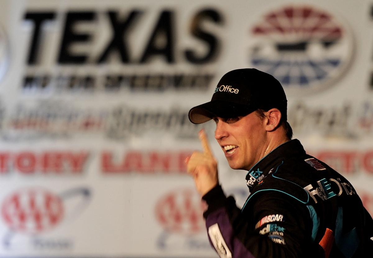 HAMLIN WINS CRAZY DAY IN TEXAS