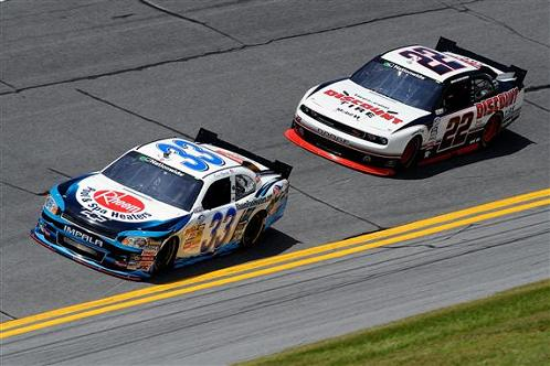 BRAND IDENTITY CREEPING BACK INTO NASCAR