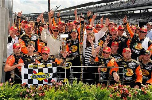 MCMURRAY, GANASSI SHINE ON CENTER STAGE