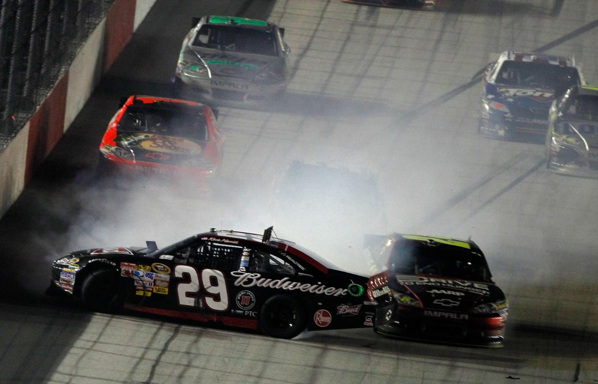 REGAN SMITH WINS AS ALL HELL BREAKS LOOSE