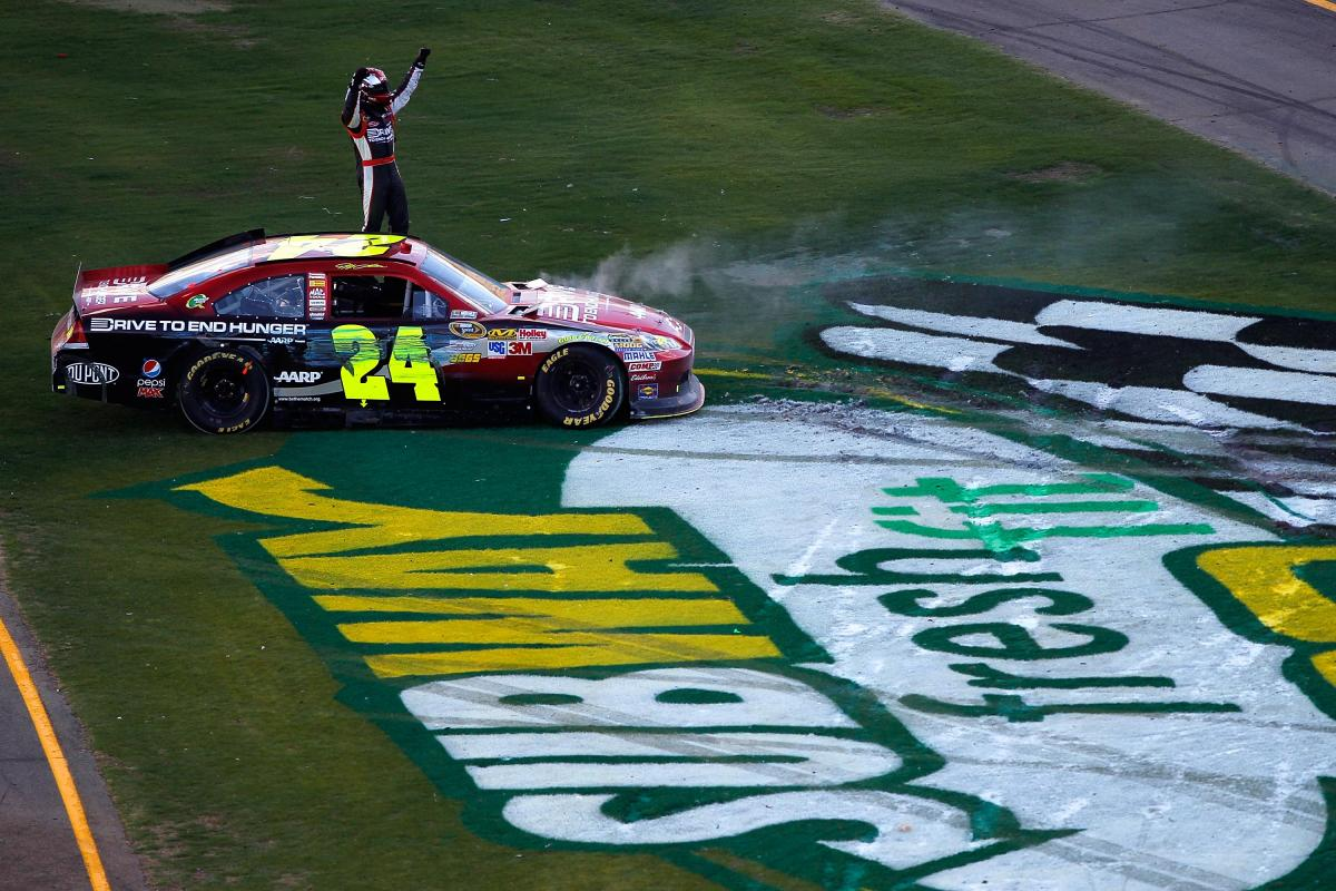 GORDON ENDS DROUGHT AFTER MOVING BUSCH