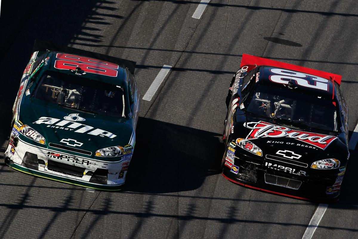 HARVICK CRUSHES THE HOPES OF JUNIOR NATION