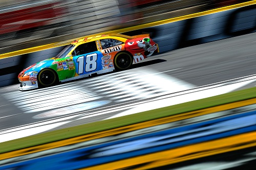 KYLE BUSCH APOLOGIZES FOR SPEEDING INCIDENT
