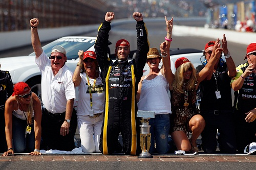 PAUL MENARD: FROM FLOPPER AWARD TO BRICKYARD 400 CHAMPION