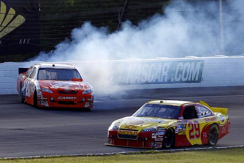 TEMPERS BOILED AT POCONO