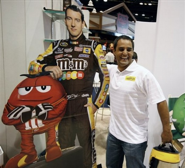 IF YOU LIKE KYLE BUSCH, YOU WILL LOVE JUAN PABLO MONTOYA