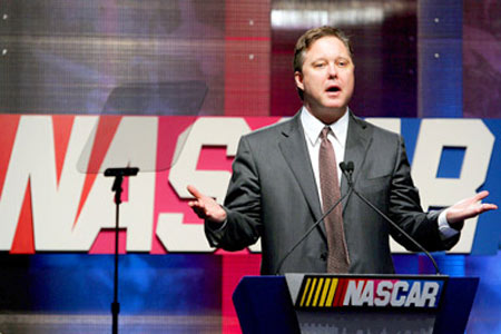 UPDATED: Brian France Feels Your Pain … A Little Bit