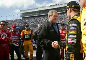 Apparently, It's Okay to Talk Politics in NASCAR