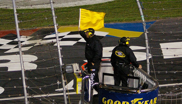 IS NASCAR FABRICATING LATE-RACE CAUTIONS?