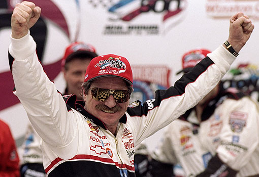 ANTICIPATION OF DALE EARNHARDT'S DAYTONA 500 WIN BUILT OVER MANY YEARS