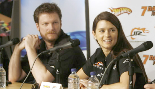 NASCAR LOOKING FOR BOOST FROM DANICA & JUNIOR? (IT MIGHT WANT TO KEEP LOOKING)