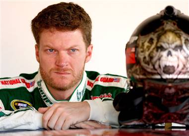 EARNHARDT JR. BEYOND FRUSTRATION