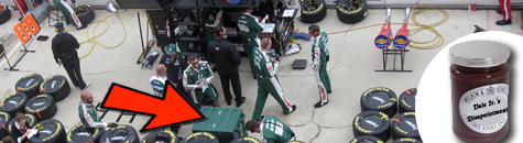 SECRETS REVEALED WITHIN NASCAR PIT STALLS