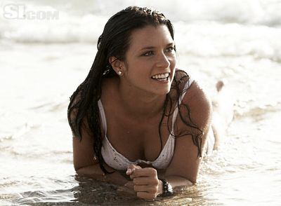 Danica Patrick is Hot, But, Well, You Know, She Can't Really DRIVE