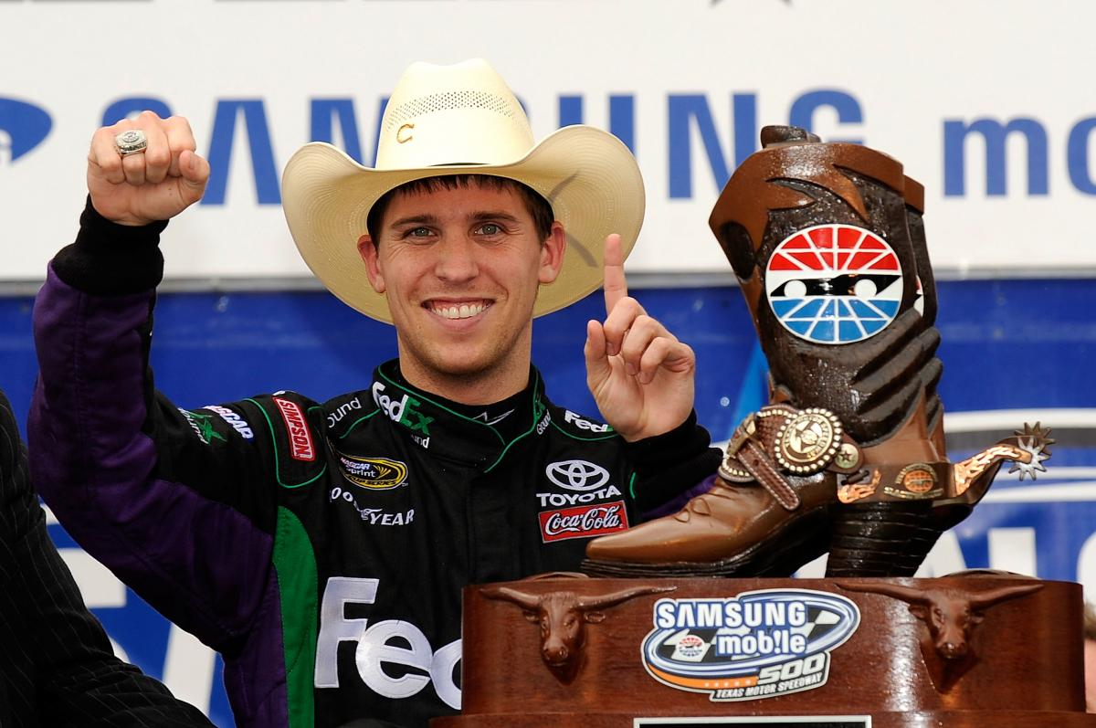 HAMLIN FIGHTS PAIN, BEATS COMPETITION