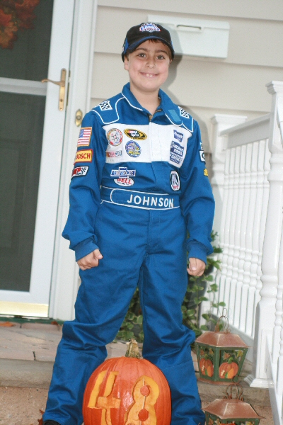 NASCAR HALLOWEEN PHOTO CONTEST WINNER