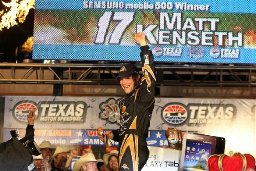 QUIET, COOL KENSETH IS THE STEALTH CANDIDATE
