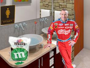 NASCAR MEDIA TOUR INFAMOUS MOMENTS