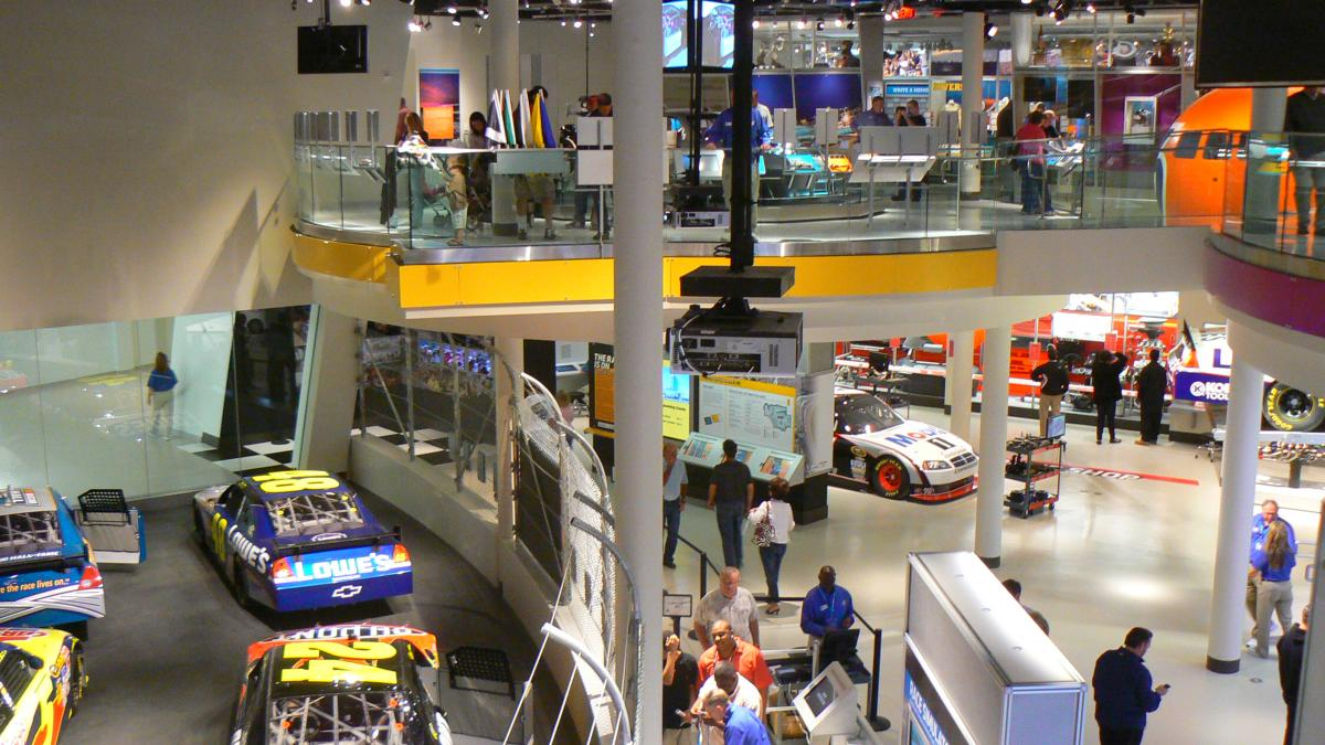 NASCAR HALL OF FAME OPEN FOR BUSINESS