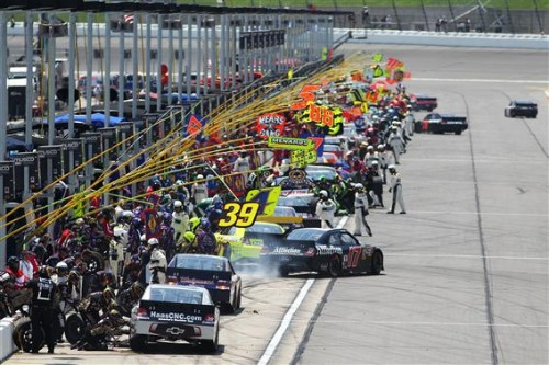 FUEL MILEAGE IS STRATEGY AND STRATEGY IS A PART OF RACING