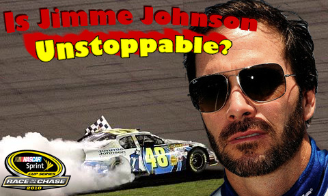 IS JIMMIE JOHNSON UNSTOPPABLE?