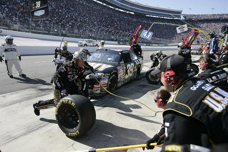 NERVOUS SEASON FOR NASCAR CREWMEMBERS