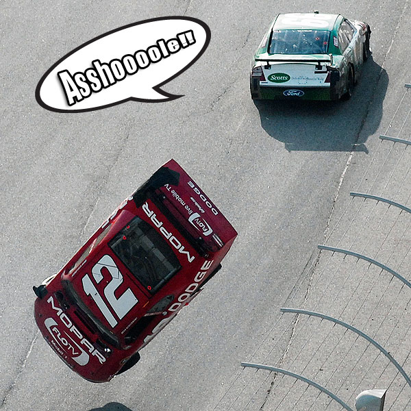 LOL RACE PICS: WHAT CARL EDWARDS SAID