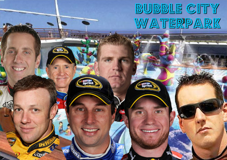 JOIN NASCAR DRIVERS FOR VACATION GET-A-WAYS