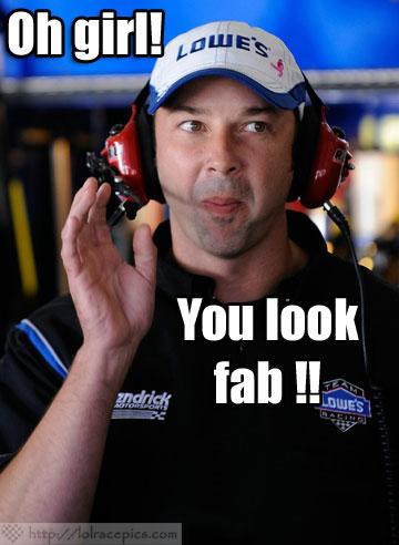 LOL RACE PICS: MMMM-HMMMM