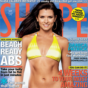 DANICA PATRICK TO APPEAR ON COVER OF SHAPE MAGAZINE