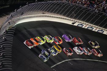 NASCAR OKS DOUBLE-FILE RESTARTS